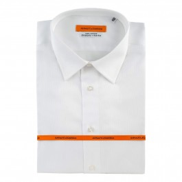 Chemise business blanche slim col classique_Full