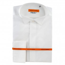 Chemise business blanche slim ceremonie full