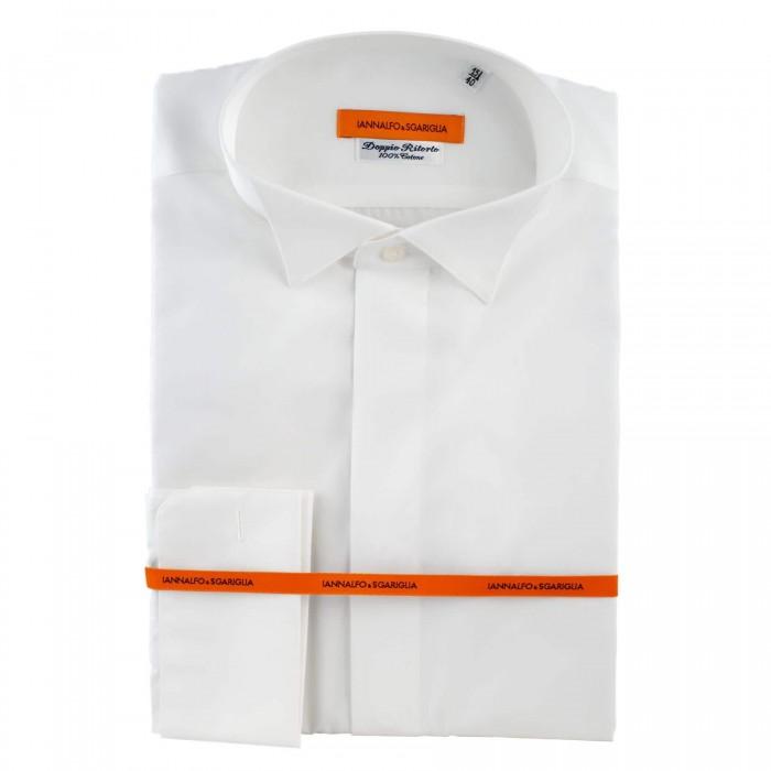 Chemise business blanche slim ceremonie full