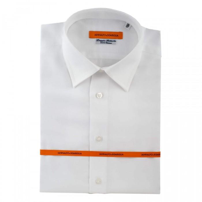 chemise business blanche slim col classique Full