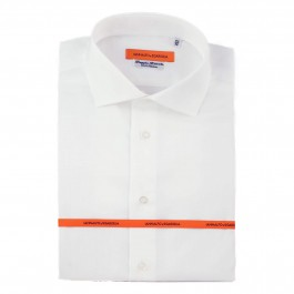 chemise business blanche slim col italien Full
