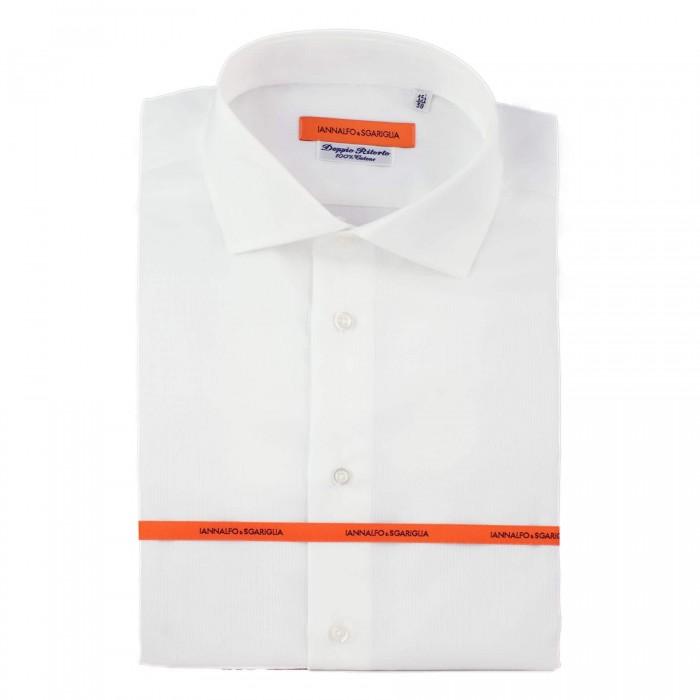 chemise business blanche slim col italien Full