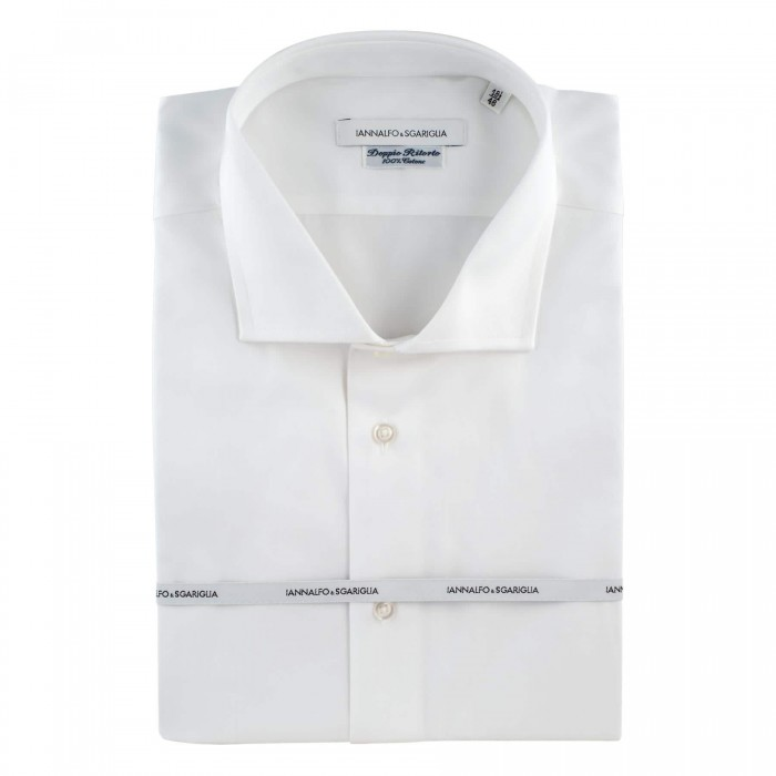 Chemise business blanche regular col classique full