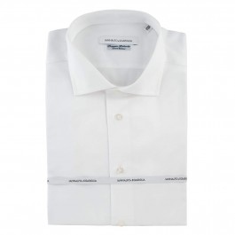 Chemise Business Blanche Regular Col Italien full