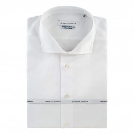 Chemise Iannalfo&Sgariglia business blanche regular col italien full