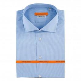 chemise Iannalfo&Sgariglia business bleu ciel slim col italien full