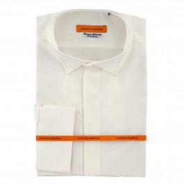 chemise Iannalfo&Sgariglia business blanc cassé slim cérémonie full