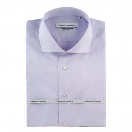 chemise Iannalfo&Sgariglia business lila regular col italien
