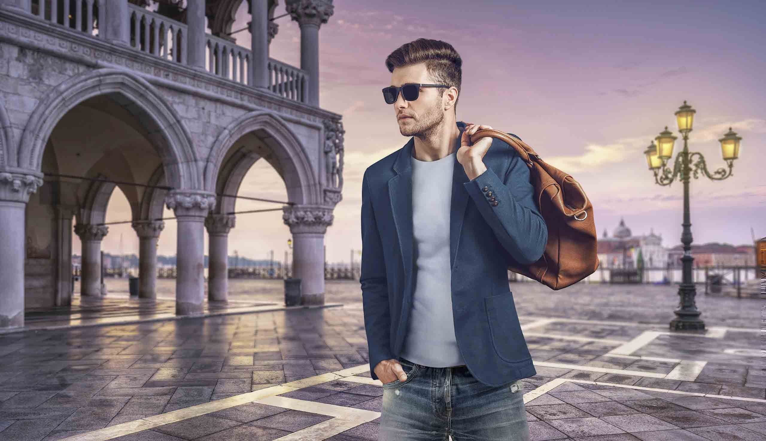 IANNALFO & SGARIGLIA EXPLORE YOUR INNER STYLE Casual cloth for men